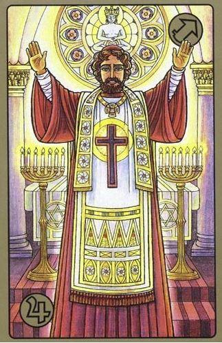 Kazatel - karty Symbolon
