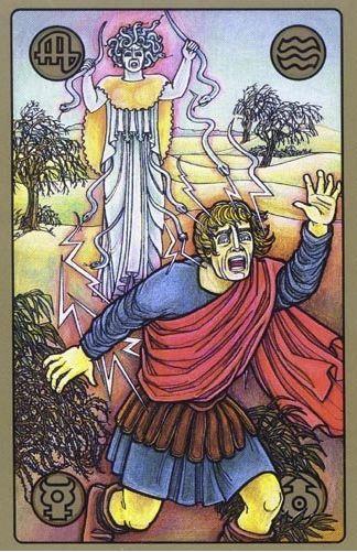 Fúrie - karty Symbolon