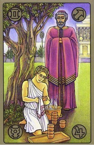 Mistr a žák - karty Symbolon