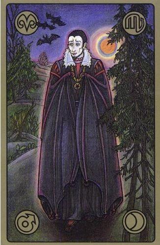 Upír - karty Symbolon