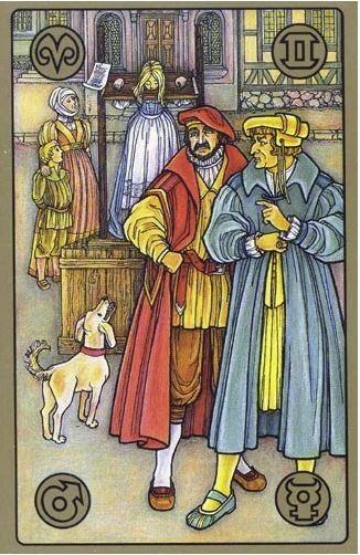 Pranýř - karty Symbolon