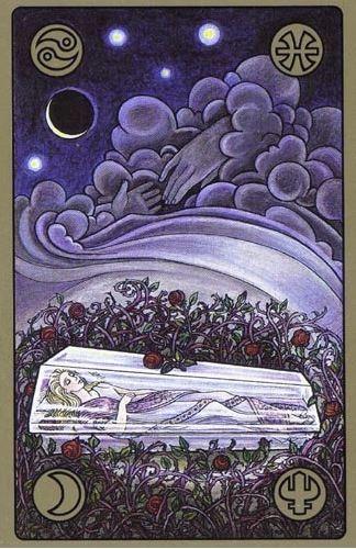 Spánek Šípkové Růženky - karty Symbolon