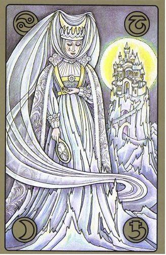 Ledová královna - karty Symbolon