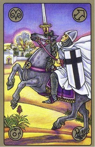 Křižák - karty Symbolon