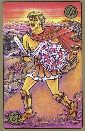 Bojovník - karty Symbolon