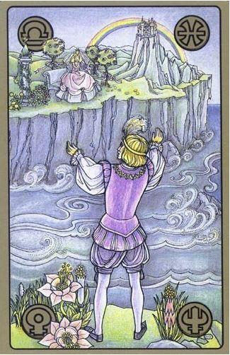 Dvě královy děti - karty Symbolon