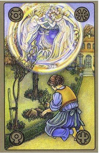 Zahrada duchů - karty Symbolon