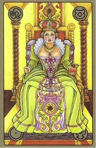Panovnice - karty Symbolon